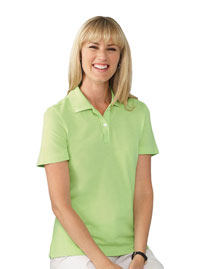Ashworth 1148 Ladies' EZ-Tech Piqué Polo at bigntallapparel