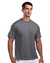 Tri-Mountain 122 Mens Ultracool Pique Crewneck T Shirt at bigntallapparel