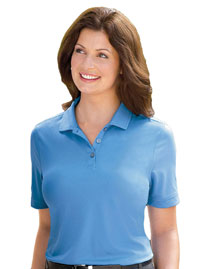 Ashworth 1290C Ladies' Performance Wicking Piqué Polo at bigntallapparel
