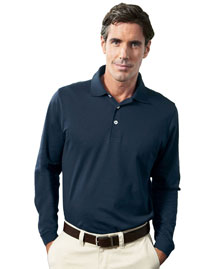 Men's EZ-Tech Long-Sleeve Polo