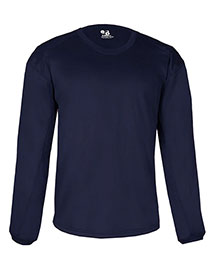 Badger 1453 Adult 100% Polyester Bt5 Performance Pullover Crewneck Sweatshirt at bigntallapparel