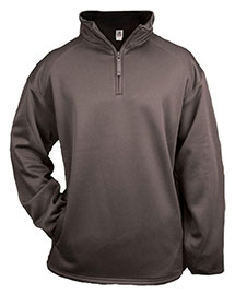 1480 Badger 1/4 Zip Poly Fleece Pullover