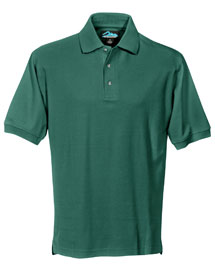 Tri-Mountain 168 Mens Pique Polo Golf Shirt at bigntallapparel