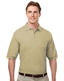 Tri-Mountain 188 Mens Baby Pique Polo Golf Shirt at bigntallapparel