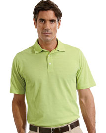 Ashworth 2203C Men's EZ-Tech Short-Sleeve Textured Polo at bigntallapparel