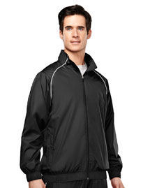 Tri-Mountain 2348 Men's 100% poly micro wind coat with mesh lining at bigntallapparel