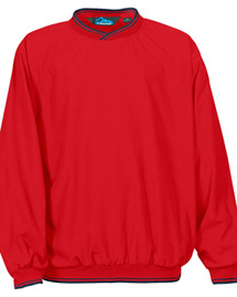 Tri-Mountain 2560 Big and Tall Mens  Peached Microfiber Windshirt With Nylon Lining at bigntallapparel