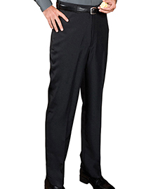 Edwards 2795 MEN'S POLYESTER NO POCKET FLAT FRONT CASINO PANT at bigntallapparel
