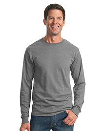 Mens 50/50 Cotton/Poly Long Sleeve T Shirt