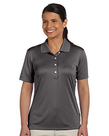 Ashworth 3050 Ladies' Performance Interlock Solid Polo at bigntallapparel