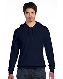 Bella 3719 Unisex Poly-Cotton Fleece Pullover Hoodie at bigntallapparel
