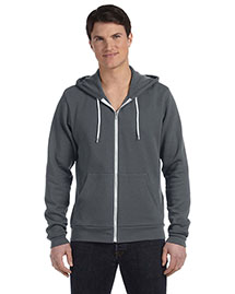 Bella 3739 Unisex Poly-Cotton Fleece Full-Zip Hoodie at bigntallapparel