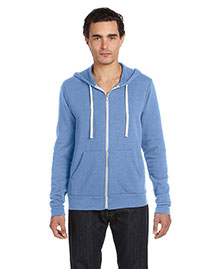 Bella 3909ALP Unisex Triblend Sponge Fleece Full-Zip Hoodie at bigntallapparel