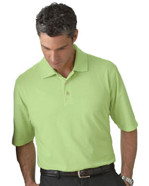 Ashworth 4570 Men's High Twist Cotton Tech Polo at bigntallapparel