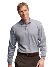 5.6 oz., 50/50 Long-Sleeve Sport Shirt with Stain-Release