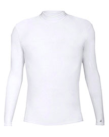 Badger 4656     Long Sleeve Mock Neck Blended Compression Tee  at bigntallapparel