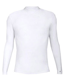 Badger 4756     B-Hot Long Sleeve Mock Neck Blended Compression Tee  at bigntallapparel