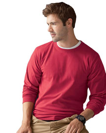 Men's 6.1 oz. Basic Cotton Long-Sleeve T-Shirt