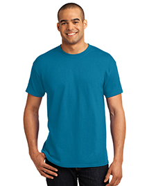 Hanes 5170 Mens Heavy Weight 50/50 Cotton/Poly T Shirt at bigntallapparel