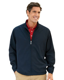 Ashworth 5378 Men's Full-Zip Lined Wind Jacket at bigntallapparel