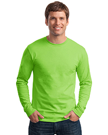 Mens Tagless 100% ComfortSoft Cotton Long Sleeve T Shirt