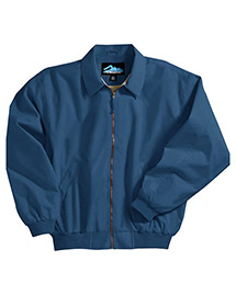 Tri-Mountain 6000 Mens Microfiber Jacket with Popl