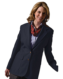 Edwards 6500 WOMEN'S POLYESTER BLAZER at bigntallapparel