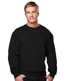 Tri-Mountain 680 Mens Sueded Finish Crewneck SweatShirt at bigntallapparel