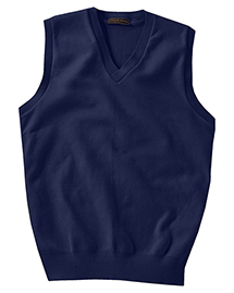 MEN'S COTTON CASHMERE V-NECK VEST