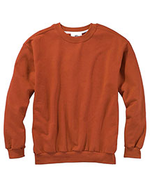 Anvil 71000 Ringspun Crewneck Sweatshirt at bigntallapparel