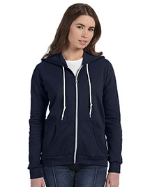 Anvil 71600L Ladies' Ringspun Full-Zip Hooded Swea