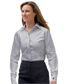 Ashworth 7162C Ladies' EZ-Tech Check Pattern Woven at bigntallapparel