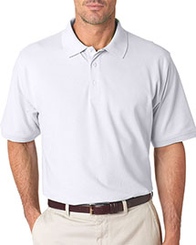 Ultraclub 7500    ® Men's Classic Platinum Polo  a