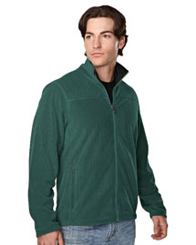 Tri-Mountain 7825 Men's 100% Polyester Brushed Back Fleece Jacket at bigntallapparel