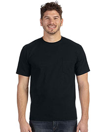 Anvil 783AN Heavyweight Ringspun Pocket T-Shirt at bigntallapparel