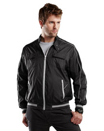 Tri-Mountain 8050 Mens 100% Nylon Water Resistant Full Lined Woven Tmr Jacket at bigntallapparel