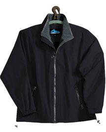 Tri-Mountain 8090 Big and Tall Mens  Nylon Jacket With Fleece Lining at bigntallapparel