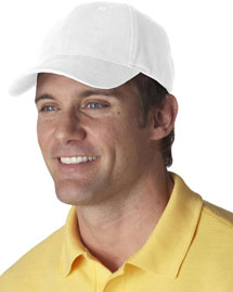 UltraClub 8110 Brushed Solid Cap at bigntallappare