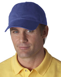 UltraClub 8111 Brushed Solid Cap at bigntallappare