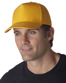 Ultraclub 8120 5 Panel Twill Cap at bigntallappare