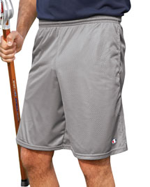 Champion 81622 Long Mesh Shorts with Pockets at bigntallapparel