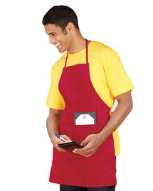 UltraClub 8204 Apron at bigntallapparel