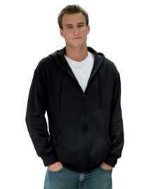 Fruit of the Loom 82230 12 oz. Supercotton™ 70/30 Full-Zip Hood at bigntallapparel