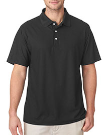 8240 UltraClub Men's Cool & Dry Pebble-Knit Polo