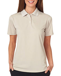 Ultraclub 8445L    ® Ladies' Cool & Dry Stain-Release Performance Polo  at bigntallapparel