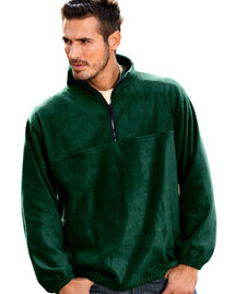 Big and Tall Mens  Nylon Hooded Jacket With Fleece Lining