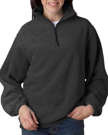 8480 UltraClub® Adult Iceberg Fleece 1/4-Zip Pullover