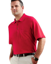 Ultraclub 8534 Short Sleeve Pocket Polo at bigntal