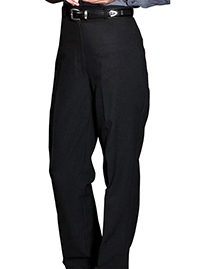 WOMEN'S POLYESTER CASINO FLAT FRONT PANT NO POCKET
