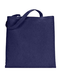 Ultraclub 8860 Canvas Tote w/o Gusset at bigntallapparel